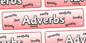 adverbs sign